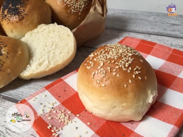 Panini per Hamburger (Burger Buns) fatti in casa