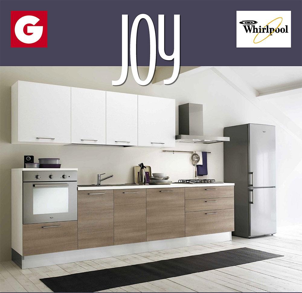 Promozione cucina Joy di Gicinque 9 finiture disponibili