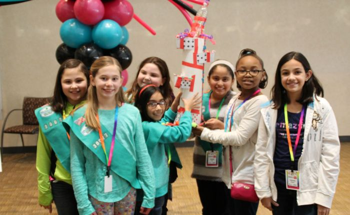 NIPSCO and the Girl Scouts Celebrate Introduce a Girl to Engineering Day