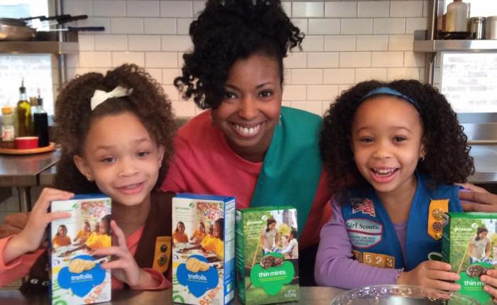 Girl Scout Cookie Fun with Grandbaby Cakes