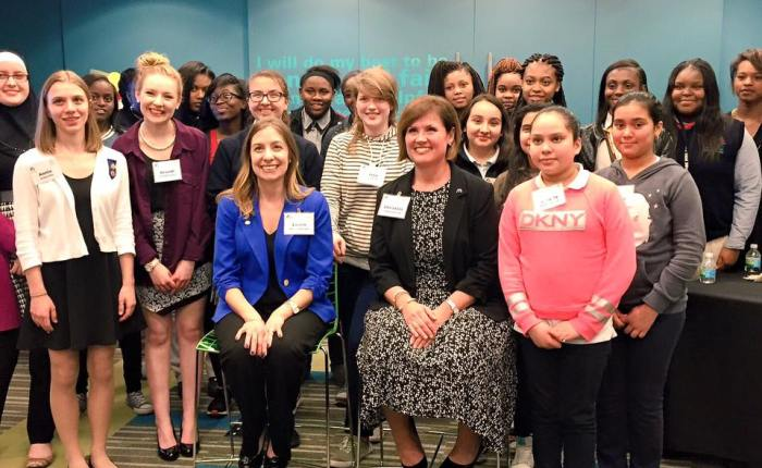 McDonald's, Girl Scouts Hold Leadership Meetup on International Women's Day
