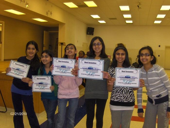 Areesha at STEM camp