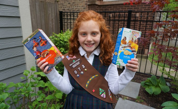 Chicago Girl Scout Sells 13K Boxes of Cookies