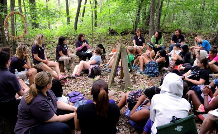 Making Lasting Memories at Girl Scout Camp CEO