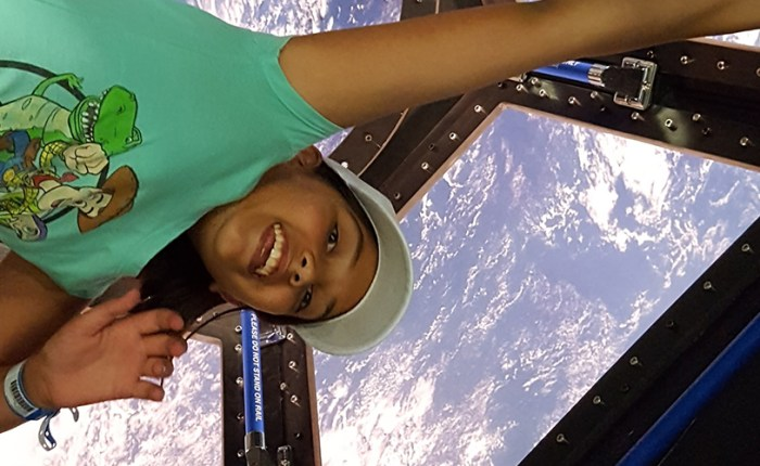 Girl Scouts Journey to the Moon at Space Camp