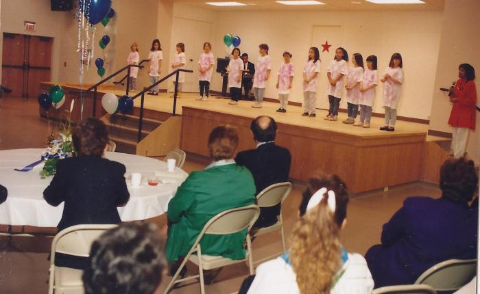 Girl Scouts Celebrate Friendship Center