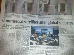 Geoeye in usa today nov 7, 08