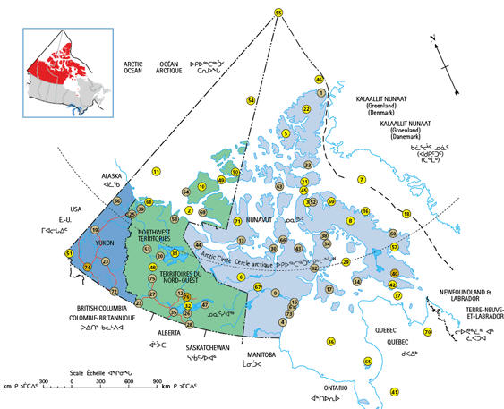 Northern Towns left off map stirs up Canada's Northern