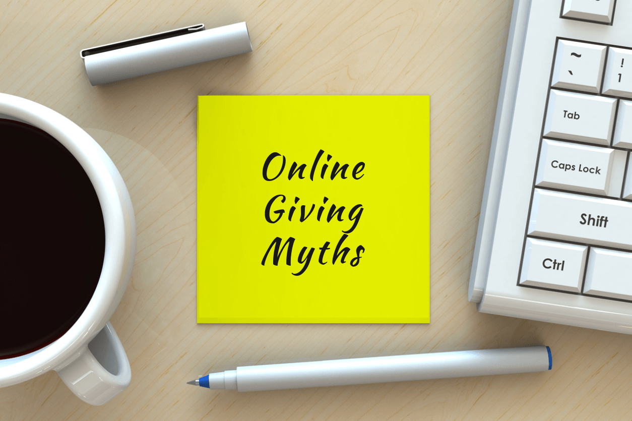 Debunking online giving myths