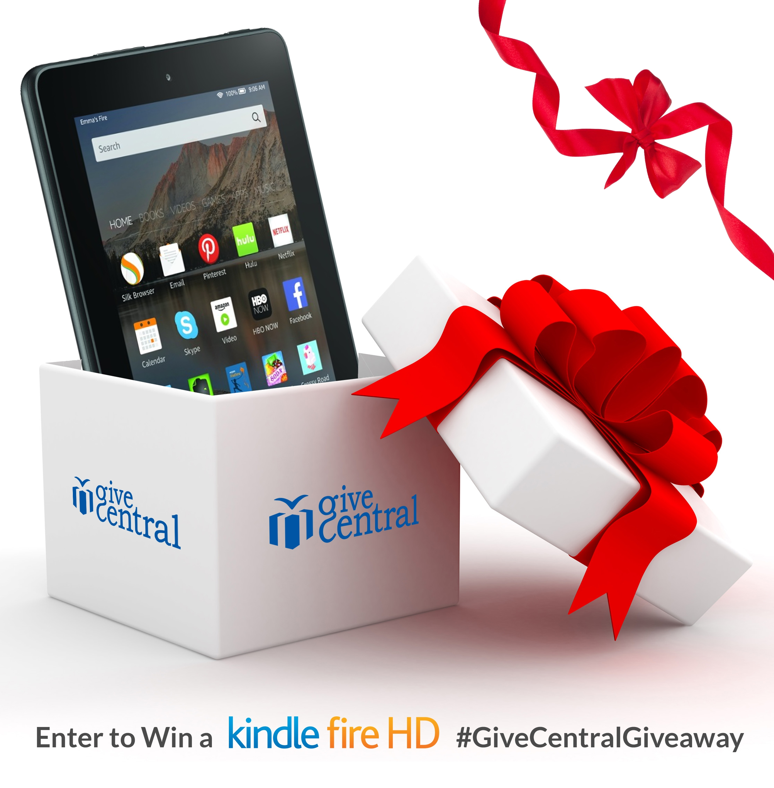 Amazon Kindle Giveaway! Christmas Sweepstakes