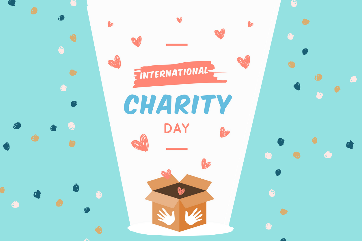 International Day of Charity: Giving by the numbers