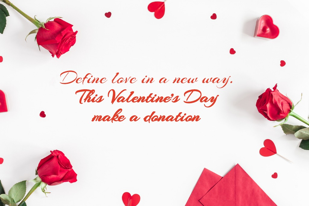 Let the theme speak of love and charity