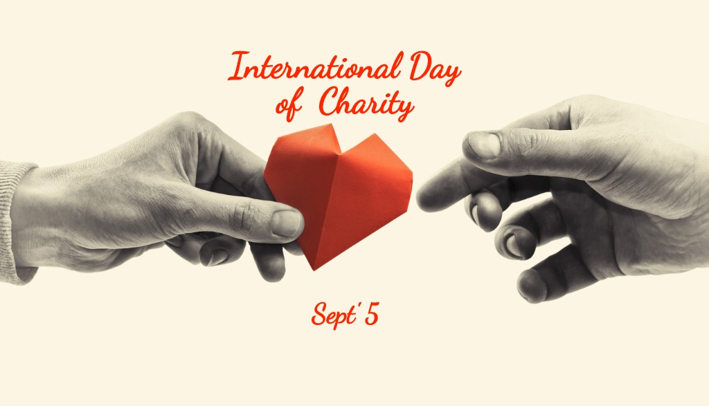 What does International Day of Charity mean for nonprofits?