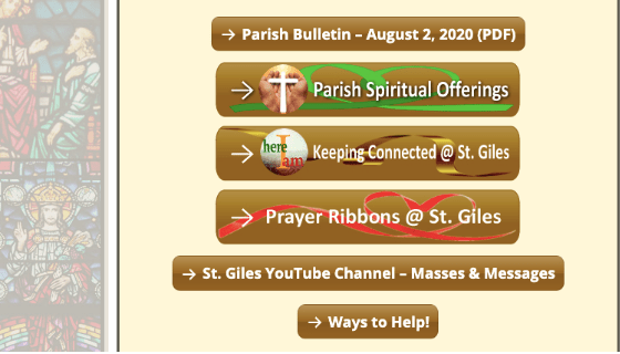 St. Giles Catholic Parish Online Giving