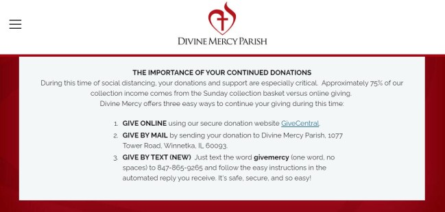 Innovating with online giving
