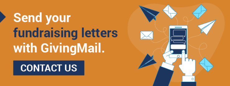 Be sure to send your church fundraising letters with GivingMail.