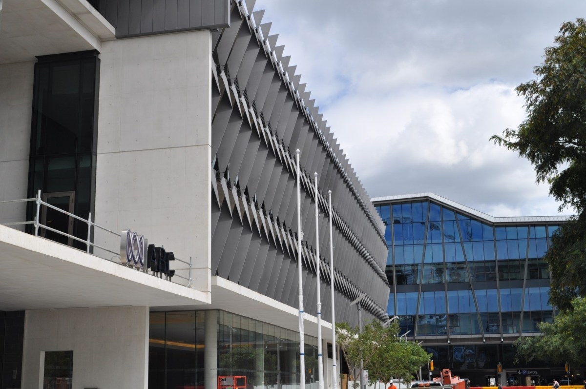 ABC Brisbane Headquarters Side View