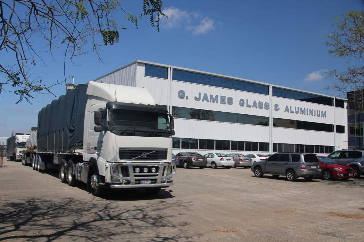 G.James Glass and Aluminium - Transport Division
