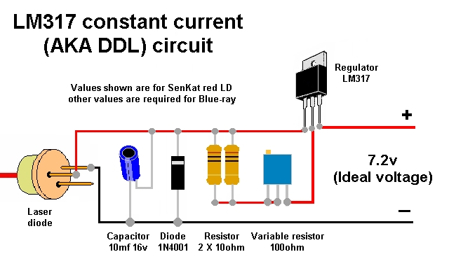 Circuit Using Lm317 Http Www Circuitstoday Com Few Lm317 Voltage
