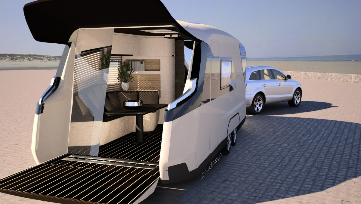 Camping Trailer of the Future