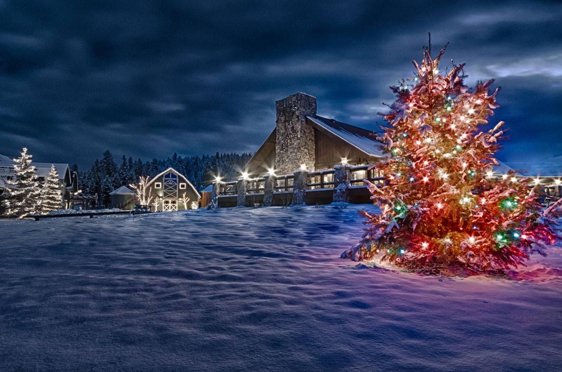 Go Glamping in a Winter Wonderland