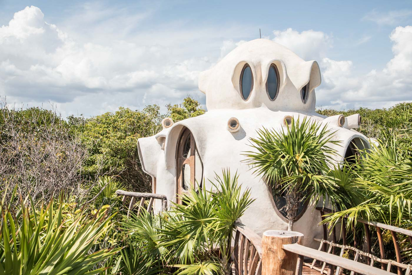 Glamping review of the treehouse at Papaya Playa in Mexico by Kristen Kellogg 7120