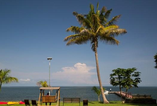 Glamping Review of Rusinga Island Lodge in Kenya by Megan Snedden - wooden dock