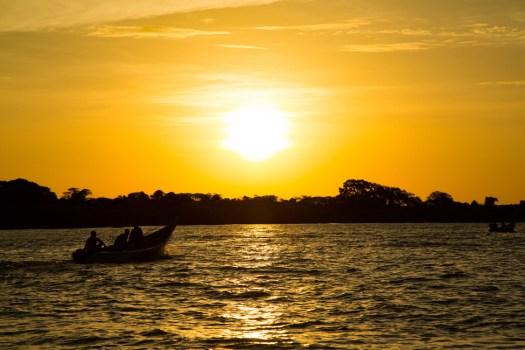Glamping Review of Rusinga Island Lodge in Kenya by Megan Snedden - ocean sunset