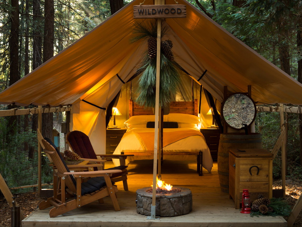 Big Sur Glamping at Ventana