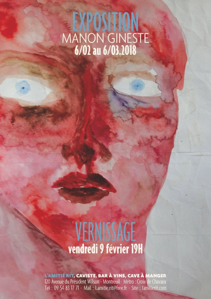 Manon Gineste's first exhibition