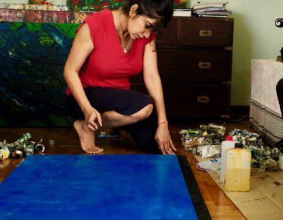 Deepa Khanna Sobti on painting and poetry