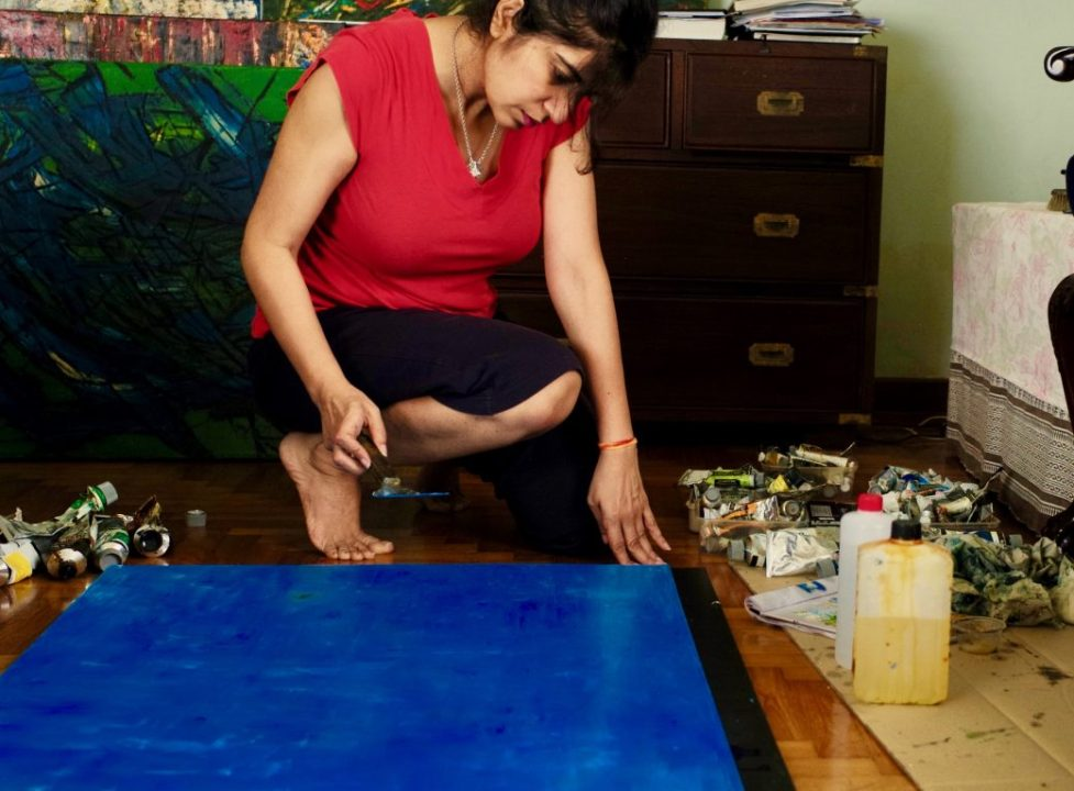 Deepa Khanna Sobti on painting and poetry