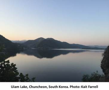 Photo: Uiam Lake, South Korea. Credit: Kait Farrell.