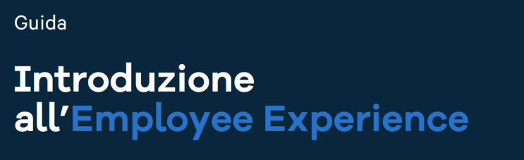 introduzione employee experience