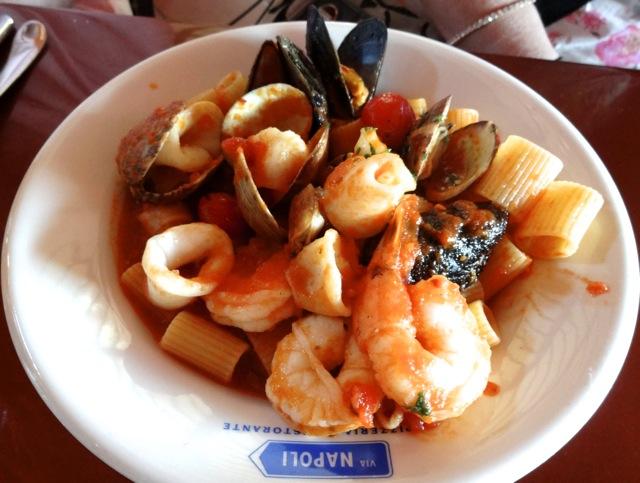 Via Napoli lunch - April 2013 - 1