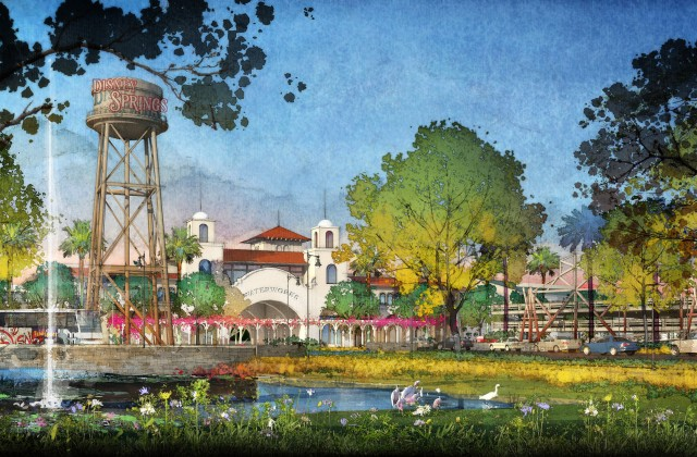 Disney Springs Rendering