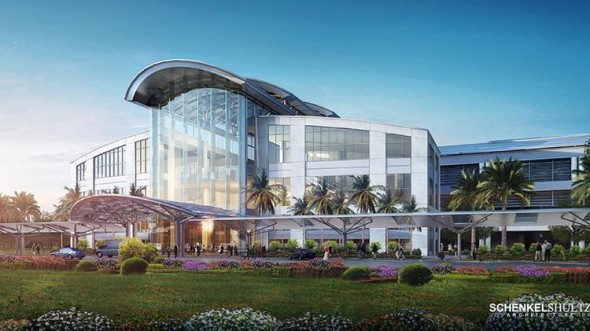 New south terminal rendering
