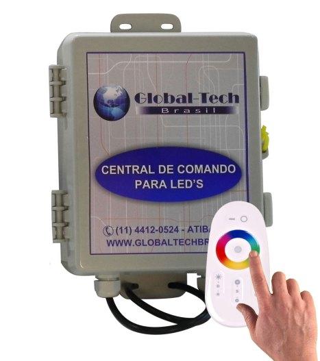 central de comando para leds RGB