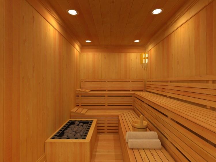 Sauna Residencial