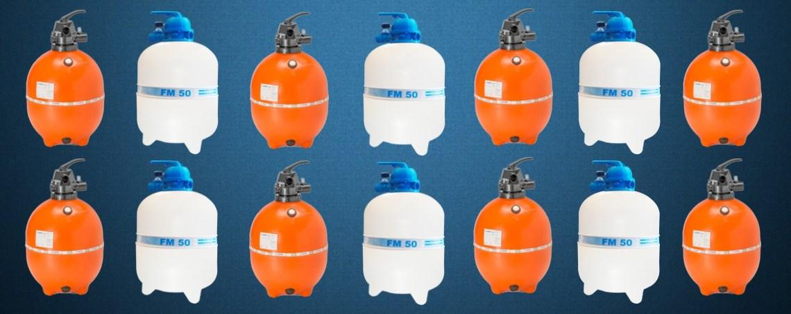Quais são os tipos de filtro para piscina?