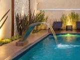 Cascatas de Piscina, para te inspirar e deixar sua área de lazer ainda mais bonita e moderna