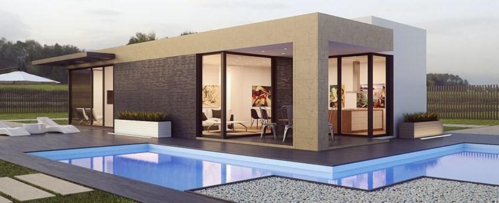 Coisas a considerar ao comprar uma casa com piscina