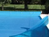 Capa térmica para piscina