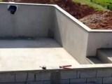 Leva quanto tempo para construir uma piscina?