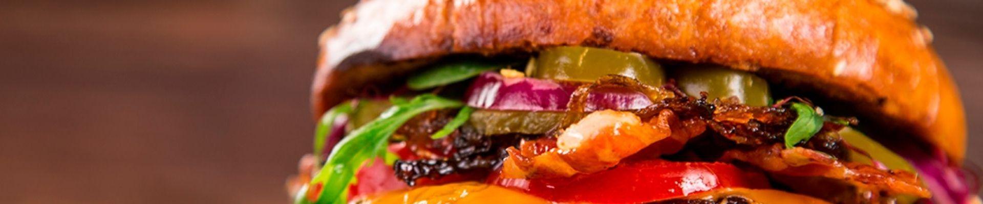 Las mejores hamburguesas a domicilio en Zaragoza
