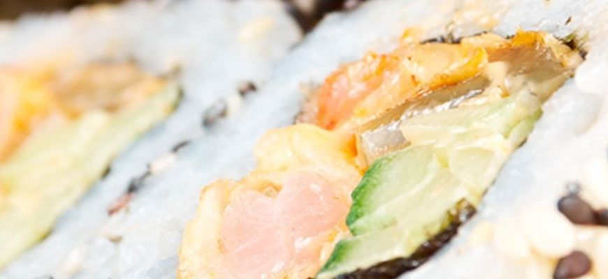 Los mejores restaurantes de sushi a domicilio en Sarrià