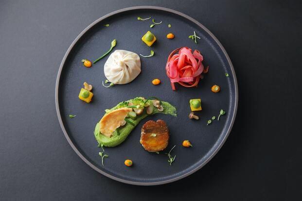 receta de hummus de aguacate