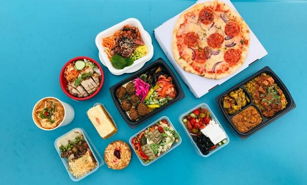 Ejemplos de tipos de comida para llevar