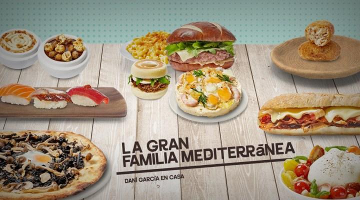 Ejemplos de platos que puedes encontrar en los menús de La Gran Familia Mediterránea by Dani García