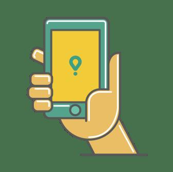 App de Glovo desde tu smartphone para pedir comida para llevar